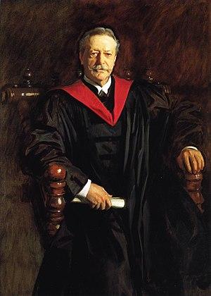 Abbott Lawrence Lowell - Abbott Lawrence Lowell portrait by John Singer Sargent
