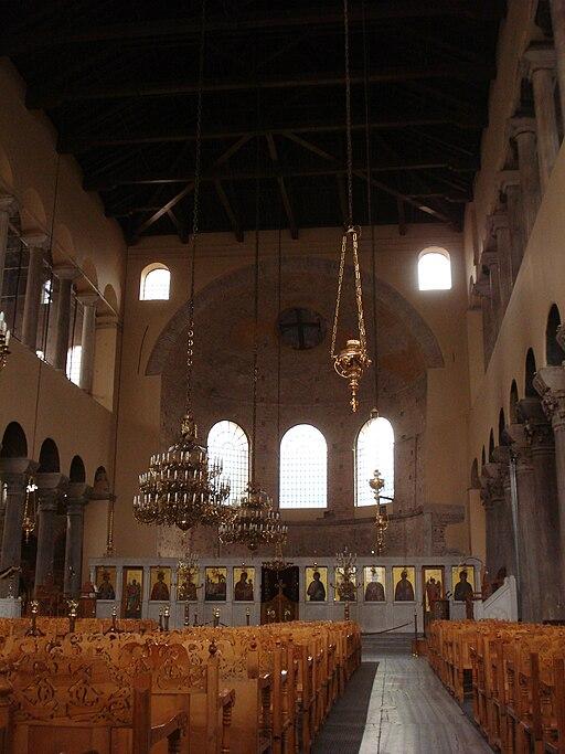 Acheiropoiitos Church in Thessaloniki