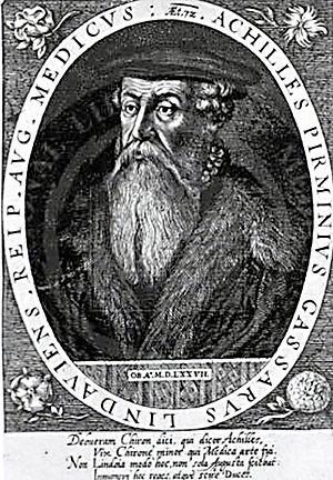 Achilles Gasser - Achilles Gasser, 17th-century engraving.