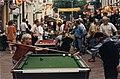 Activiteiten tijdens de heropening van de Zijlstraat. Aangekocht in 1997 van United Photos de Boer bv. - Negatiefnummer 43103 kc 2. - Gepubliceerd in het Haarlems Dagblad van 12-08-1996. Ide, NL-HlmNHA 54036383.JPG