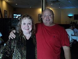 Actors Betty Lynn and Ian Oliver Martin in Mount Airy, North Carolina on April 18, 2011.jpg