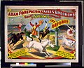 Adam Forepaugh & Sells Brothers great shows consolidated. The Oxfords. William and Ella Orford. ... Original and high class principal bareback performances and sensational double jockey act LCCN93506228.jpg