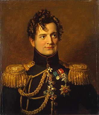 Adam Petrovich Ozharovsky - Portrait from the War Gallery of the Winter Palace