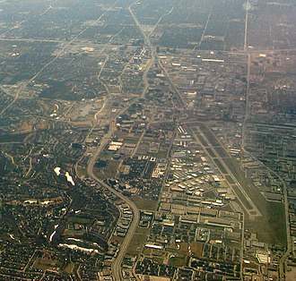 Addison Airport - Image: Addison Airport aerial