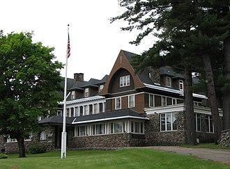 Adirondack Cottage Sanitarium - The Administration Building