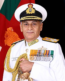Admiral Sunil Lanba, PVSM, AVSM, ADC, Chairman COSC and Chief of the Naval Staff, Indian Navy.jpg