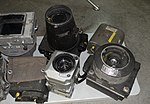 Aerial Photography Cameras, 3 of 3 - Oregon Air and Space Museum - Eugene, Oregon - DSC09727.jpg