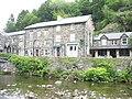 Afon Colwyn and the Prince Llywelyn Hotel - geograph.org.uk - 446344.jpg