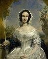 Agatha Petronella Hartsen (1814-78). In bruidstoilet ter gelegenheid van haar huwelijk met Jan van der Hoop op 17 maart 1841, SK-A-4123.jpg