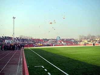 Ghazi Stadium - Scene at the stadium after a special ribbon cutting event December 2011