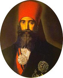Portrait d'Ahmed Bey