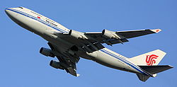 Air China 747 Taking Off From Beijing Capital Airport.JPG