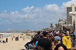 Air Force Fly By on Tel Aviv Beach IMG 1615.JPG