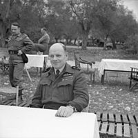 Air Vice-Marshal Dickson near Venafro, Italy