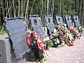 Airport Disaster 20.06.11 Memorial near Petrozavodsk 2.JPG