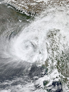 Cyclone Akash North Indian cyclone in 2007
