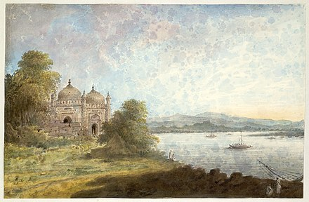 The Akbari Mosque, overlooking the Ganges AkbariMosqueOverlookingGanges-Sita-Ram1804.jpg
