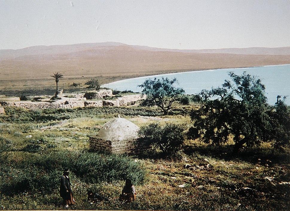 Al-Majdal photographed by Felix Bonfils