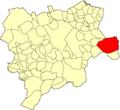 Albacete Almansa Mapa municipal.png