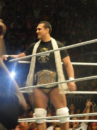 Alberto Del Rio - Del Rio as WWE Champion in 2011