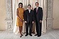 Alberto G Romulo with Obamas.jpg