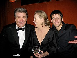 Alec Baldwin, Meryl Streep en Josh Wood tijdens 15th Annual Screen Actor's Guild Awards en Los Angeles, California.