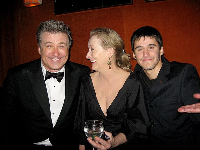 Alec Baldwin, Meryl Streep, Josh Wood 15th Annual Screen Actors Guild Awards 2.jpg