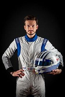 Alex Fontana Swiss racing driver of Greek descent