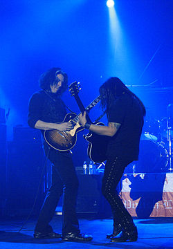 Alex Skolnick and Eric Peterson, Metalmania 2007.jpg