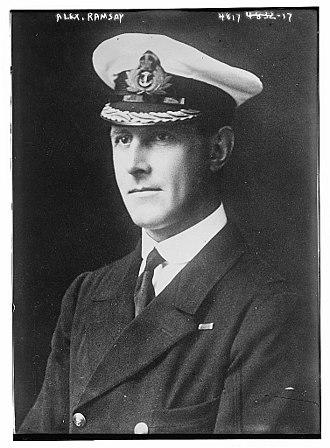 Alexander Ramsay (Royal Navy officer) - Ramsay in 1918