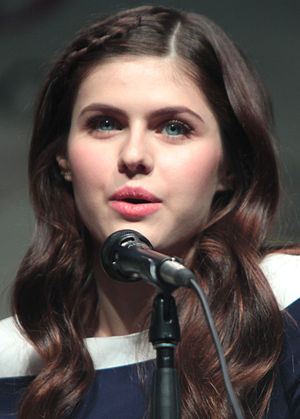 Alexandra Daddario - Daddario at WonderCon in April 2015