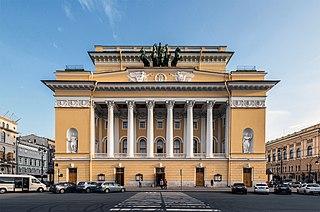 Alexandrinsky Theatre theater in Saint Petersburg, Russia
