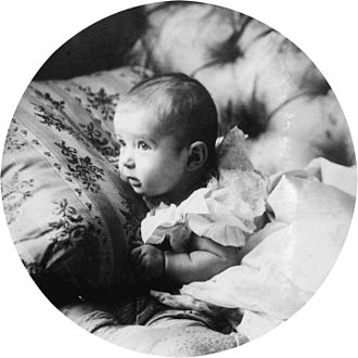 Alexei Nikolaevich, Tsarevich of Russia - Alexei as an infant in 1904