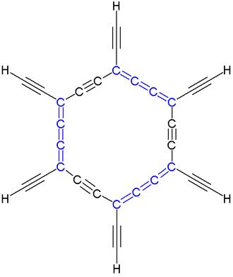 Carbo-mer - Total carbo-mer of benzene