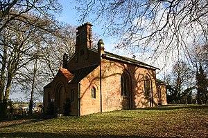 Ulceby, East Lindsey - Image: All Saints' church, Ulceby, Lincs. geograph.org.uk 112907