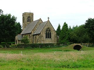 Yafforth Village and civil parish in North Yorkshire, England