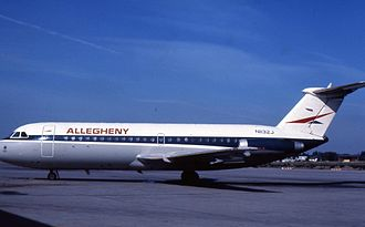Allegheny Airlines - Allegheny used the BAC 1-11