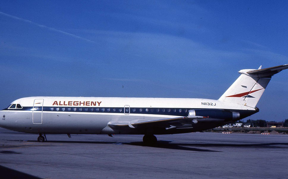 Allegheny Airlines BAC 1-11 N1132J 1