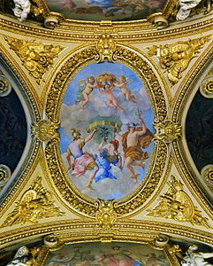 Allegory Treaty of the Pyrenees Louvre
