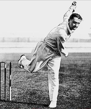 Gubby Allen - Image: Allen bowling