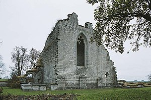 Religion in Sweden - Ruins of Alvastra Monastery in Ödeshög. Various ruined medieval Catholic monasteries such as this one stand as testimonies of the appropriation of Catholic properties by the Swedish state during the Protestant Reformation.