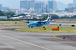 Amakusa Airlines, DHC-8-100, JA81AM (18043878914).jpg