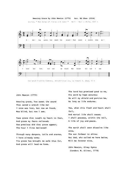 File:Amazing Grace Cmaj Lead Sheet pdf - Wikimedia Commons