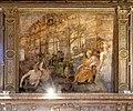 Ambito di lorenzo costa il giovane, storie dell'edificazione di mantova, 05costruzione di una porta.jpg