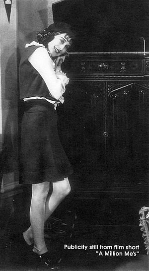 Lee Morse - Morse in A Million Me's, the first of three one-reel films she made in 1930
