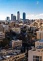 Amman towers from Amman citadel.jpg