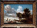 Amsterdam - Rijksmuseum 1885 - The Gallery of Honour (1st Floor) - River landscape with Ferry 1649 by Salomon van Ruysdael.jpg