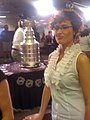 Amy Guth. Stanley Cup. Chicago Tribune newsroom. (5330457823).jpg