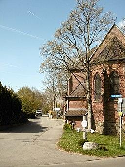 An der Kapelle in Aachen