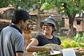 Ananya Mondal Reacts To Jayanta Nath - Dutch Cemetery Documentation - Chinsurah - Hooghly 2014-05-14 8383.JPG